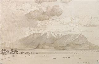 George Elbert Burr, (American, 1859-1939), San Francisco Peaks, California