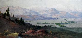 Charles Craig, (American, 1846-1931), Landscape