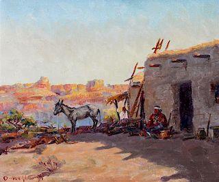 Olaf Wieghorst, (American, 1899-1988), La Casa El Canyon