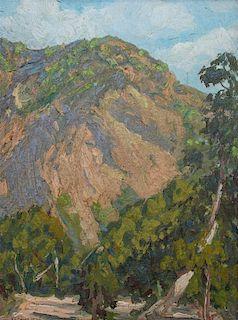 Ralph Holmes, (American, 1876-1963), Foothills