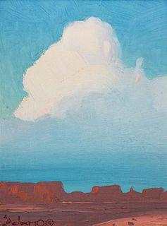 Gerard Curtis Delano, (American, 1890-1972), Picsie No. 27, In Monument Valley