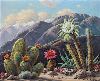 Paul Grimm, (American, b. 1891-1974), Desert Beauties