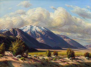 Paul Grimm, (American, b. 1891-1974), Desert Phenomenon