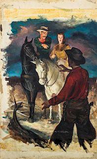 Robert Kennedy Abbett, (American, 1926-2015), Untitled