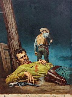 Stanley Borack, (American, b.1927), After a Gun fight