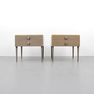 Paul Frankl Nightstands/End Tables