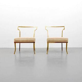 William (Billy) Haines 'Slipper' Chairs