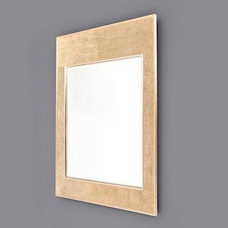 Large LeBarge Suede Mirror