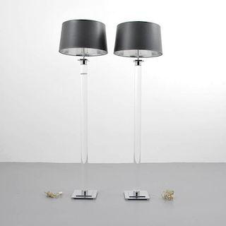 Karl Springer Floor Lamps
