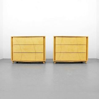 Gilbert Rohde Parchment Chests