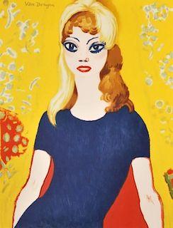 """Kees Van Dongen """"…Brigitte Bardot"""" Poster"""