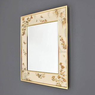 Large LeBarge Chinoiserie Mirror