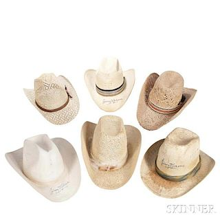 aeefd766510 Little Jimmy Dickens Two Felt Cowboy Hats by Skinner - 633858 ...