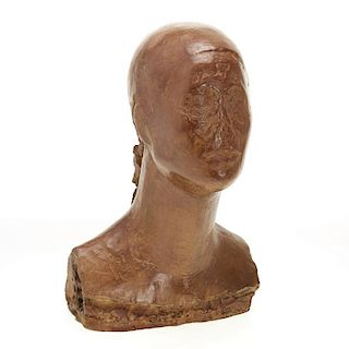 Manner of Camille Claudel, bronze bust