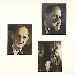 Alfredo Valente, (3) photographs