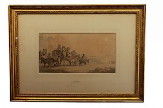 Thomas Rowlandson (UK, 1756 - 1827) Watercolor