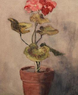 Attr. Odilon Redon (1840 - 1916) Still Life