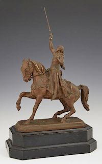 "French School, ""Joan of Arc on Horseback,"" late 19"