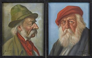 """Gussich (German), """"Villagers with White Hair,"""" ear"""