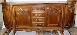 French Louis XV style walnut enfilade