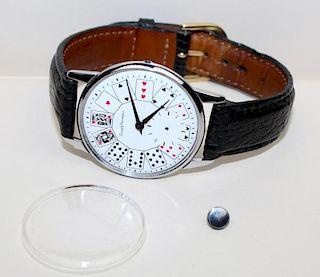 Girard-Perregaux vintage Poker face men's watch