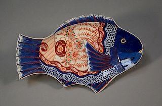 Imari Fish Form Platter