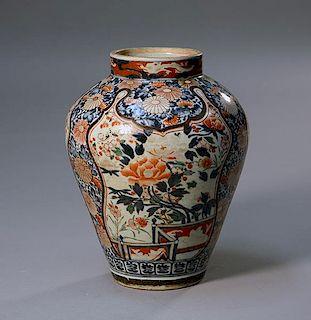 19th C. Japanese Vase
