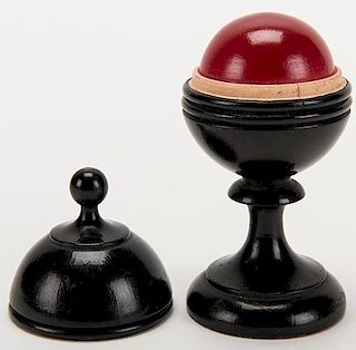 Billiard Ball Vase