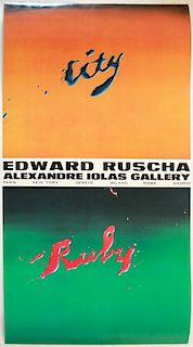 After Ed Ruscha