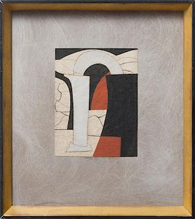 BEN NICHOLSON (1894-1982): VARIATION ON A THEME, CORINTH 5