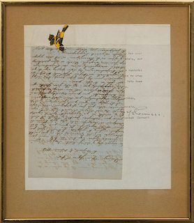 ATTRIBUTED TO JOSEPH CORNELL (1903-1972): UNTITLED