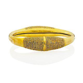 ANTIQUE INDONESIAN GOLD BRACELET