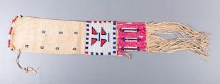 Native American Pipe Bag, Circa 1800s
