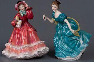 Royal Doulton Figurine Pair