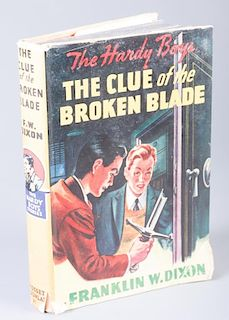 """The Hardy Boys """"The Clue of the Broken Blade"""" 1942"""