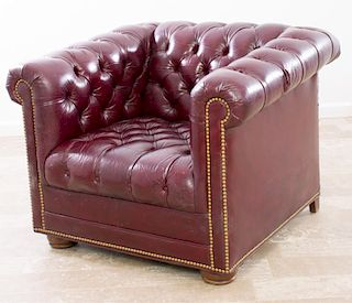 Leathercraft, Inc. Chesterfield Leather Chair