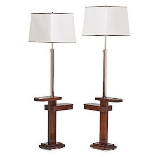 PAIR OF FRENCH STYLE LAMP TABLES