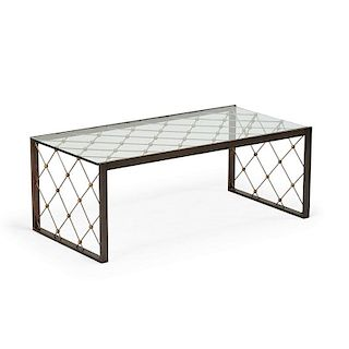 STYLE OF JEAN ROYERE COFFEE TABLE