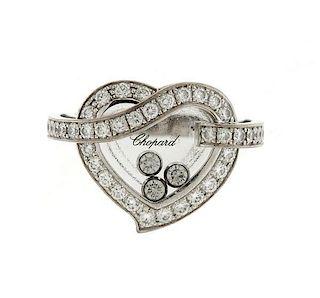 Chopard Happy Diamond 18k Gold Heart Ring