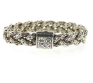 John Hardy Sterling Silver Braided Bracelet