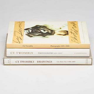 CY TWOMBLY BOOKS
