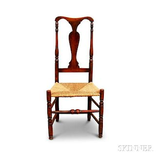 Country Turned Maple Side Chair