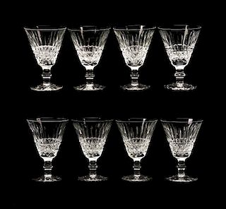 """Set of 8 Waterford Crystal """"Tramore"""" Water Goblets"""