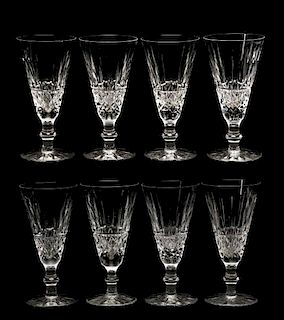 """Set of 8 Waterford """"Tramore"""" Fluted Champagnes"""