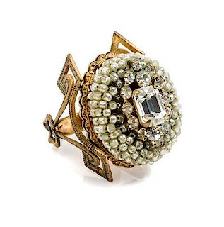 * A Miriam Haskell Ring,