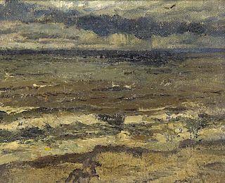 Focke, Wilhelm Heinrich Reiter am Strand. ül auf S