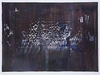 Richter, Gerhard Abstraktes Bild. 1990. Farboffset