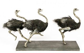 "William Marshall Allen (20th c.) ""Ostriches"""
