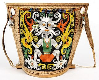 Dayak Baby Carrier Basket