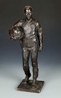 Lawrence M. Ludtke (1929-2007) Bronze Sculpture